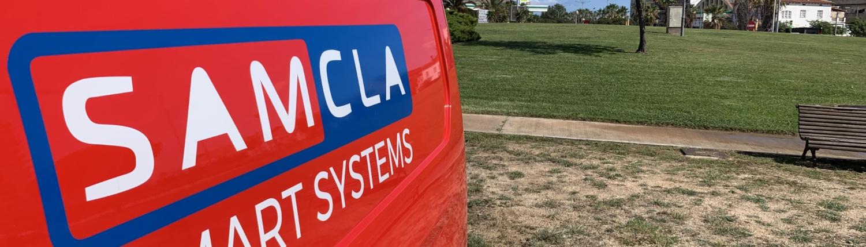 Samcla Smart Systems Car